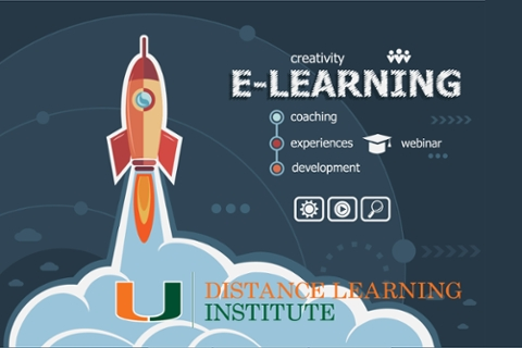 E-learning concept image
